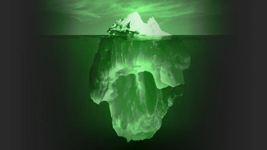 La flotabilidad del iceberg y el desarrollo de software